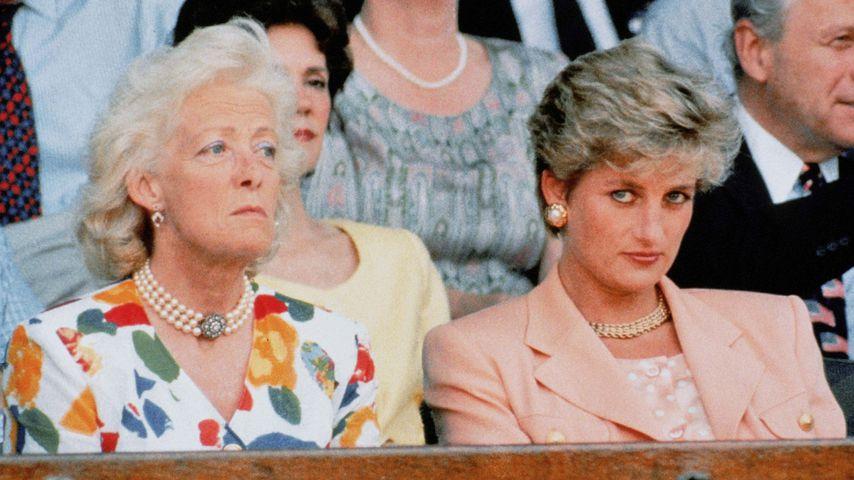 Lady Dianas Mutter beleidigte sie beim letzten Telefonat!