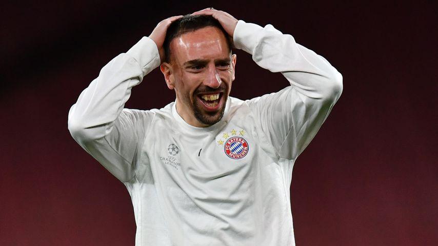 Franck Ribéry, Profi-Fußballer