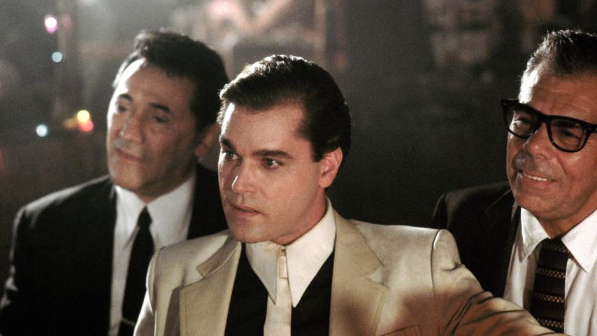 """Goodfellas""-Stars Frank Adonis, Ray Liotta und John Manca"