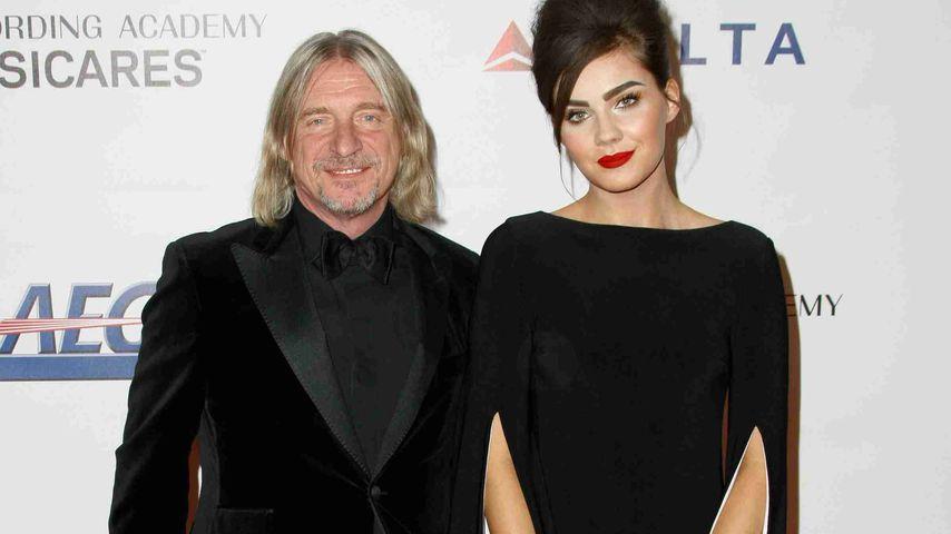 Frank Otto und Nathalie Volk auf der Musicares-Gala in Los Angeles