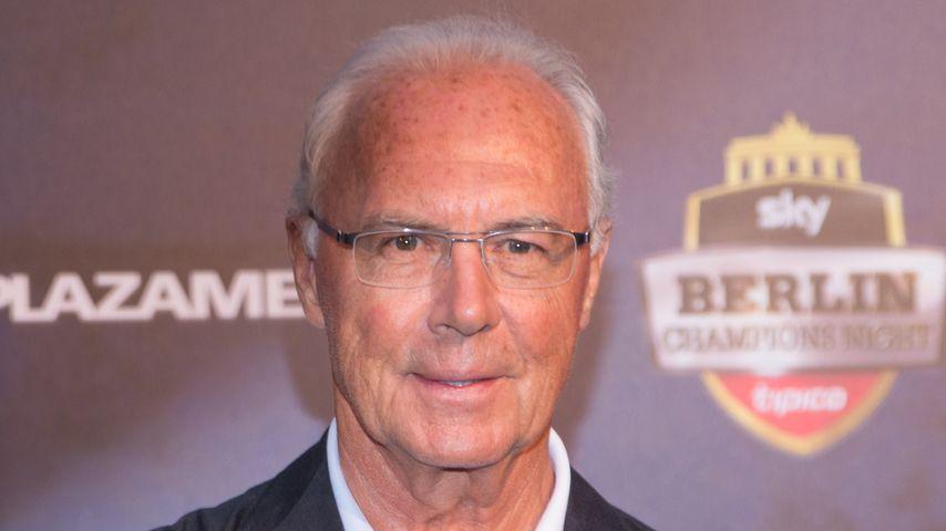 Franz Beckenbauer bei der Sky Champions Night