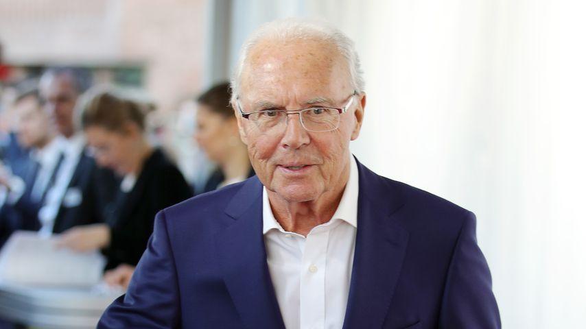 Franz Beckenbauer bei der Hall of Fame Gala des deutschen Fußballs 2019