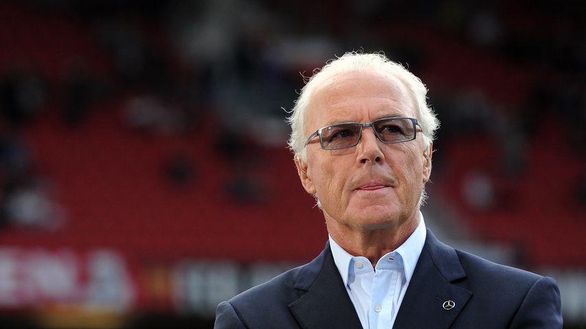 Franz Beckenbauer in Manchester
