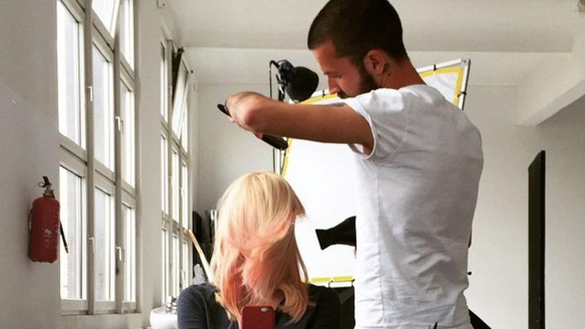 Pinkes Haar: Franziska Knuppe zeigt Frisur-Veränderung!