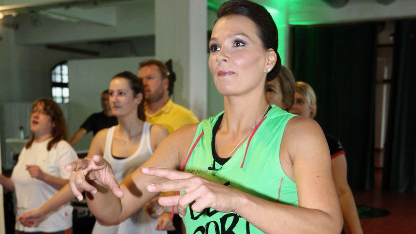 Franziska van Almsick beim Sport