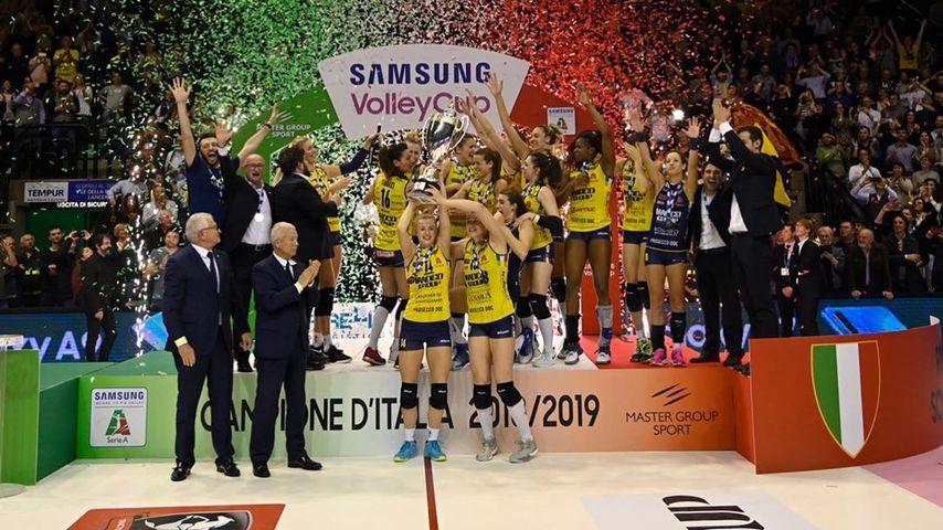 Frauen-Volleyball-Team von Imoco Volley Conegliano