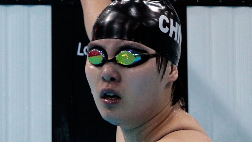 Fu Yuanhui bei den Olympic Games in London