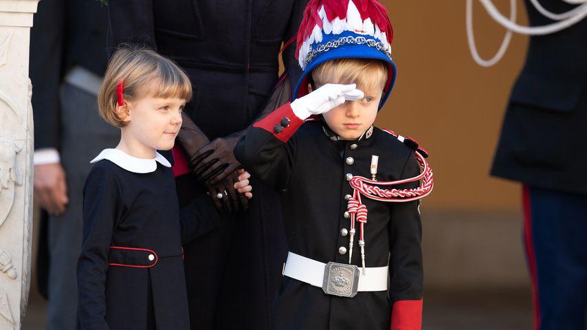 Prinzessin Gabriella und Prinz Jacques in Monte-Carlo