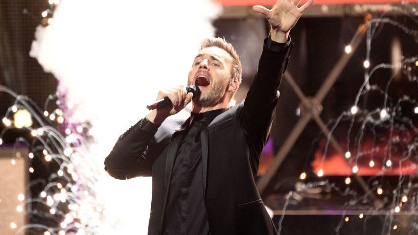 Gary Barlow im November 2018 in Berlin