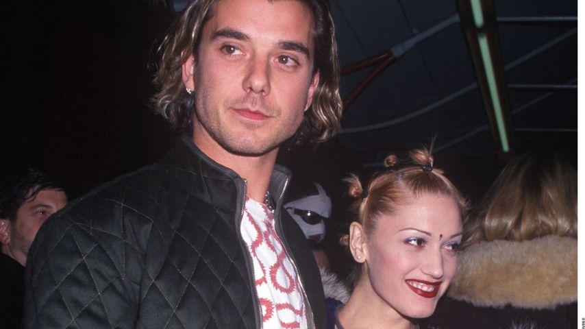 Gavin Rossdale und Gwen Stefani im Jahr 1997