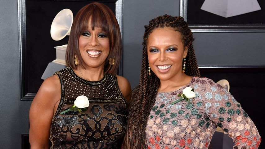 Gayle King und ihre Tochter Kirby bei den Grammy Awards, 2018