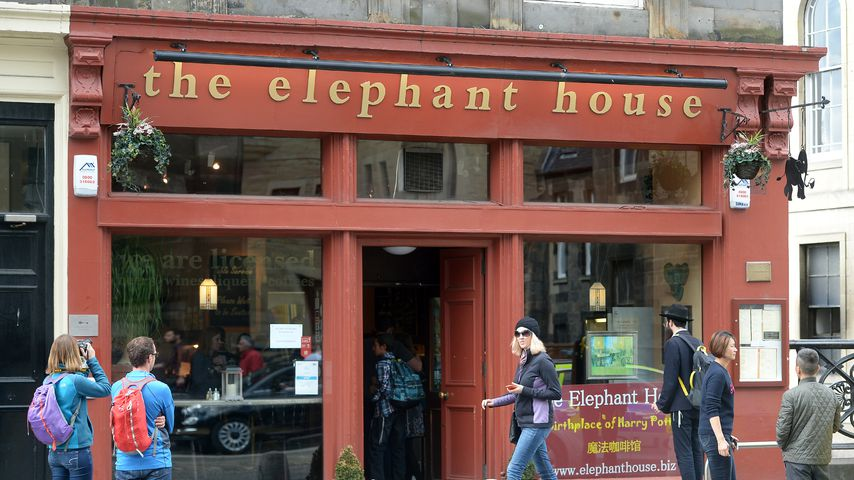 """The Elephant House"" in Edinburgh"