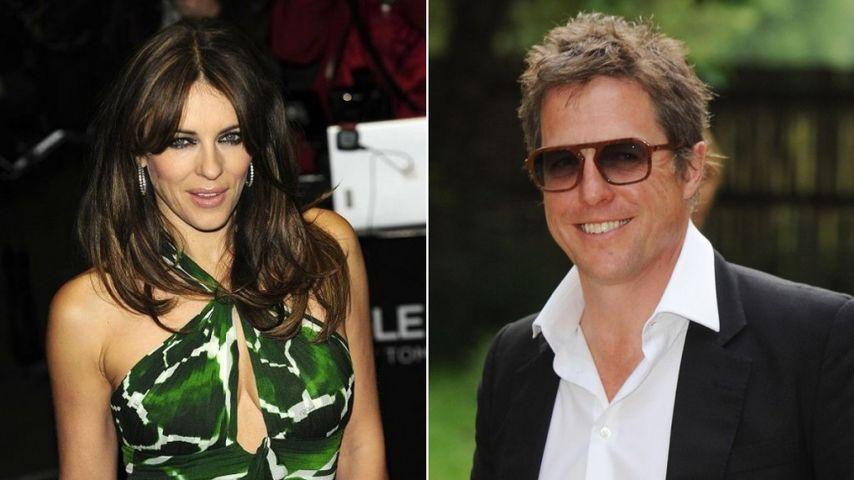 Was geht da zwischen Liz Hurley und Hugh Grant?