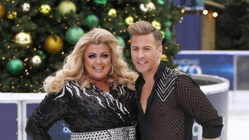 "Gemma Collins und ihr Partner Matt Evers bei ""Dancing on Ice"""