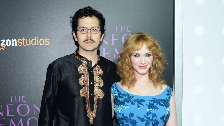 Geoffrey Arend und Christina Hendricks