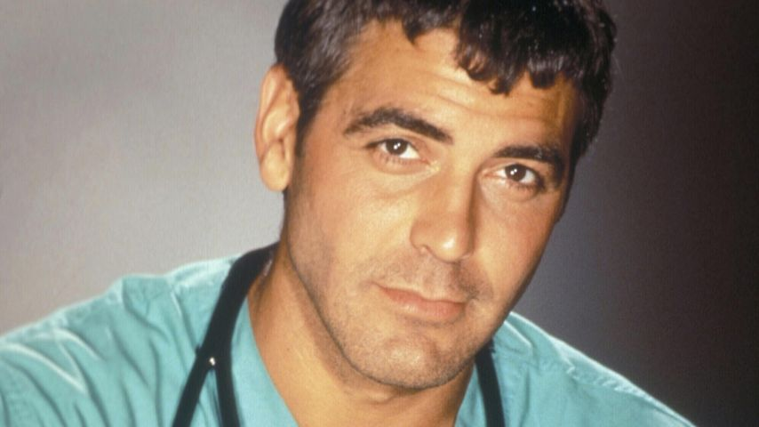 "George Clooney als Dr. Doug Ross in ""Emergency Room"" 1994"
