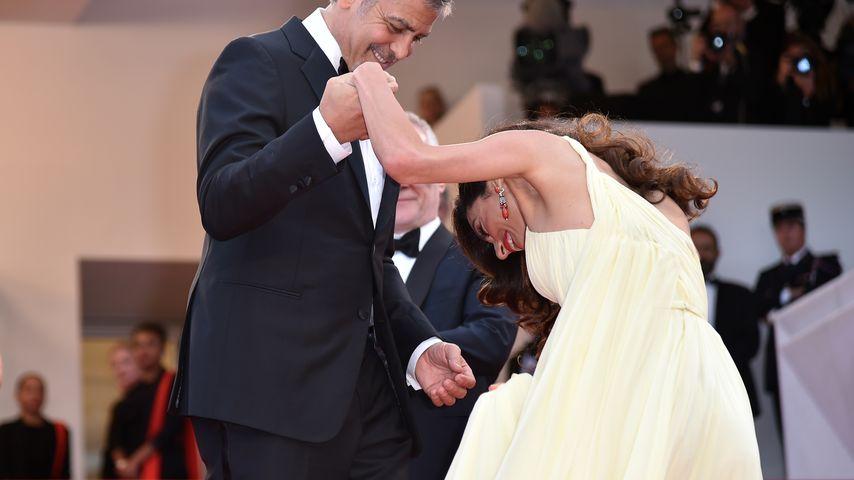 Heiße Küsse: Amal & George Clooney zeigen endlich ihre Liebe