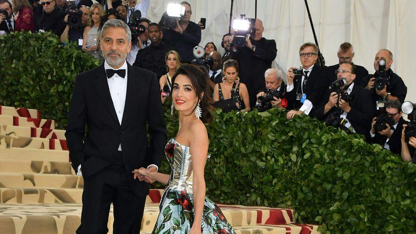 George und Amal Clooney bei der Met Gala 2018