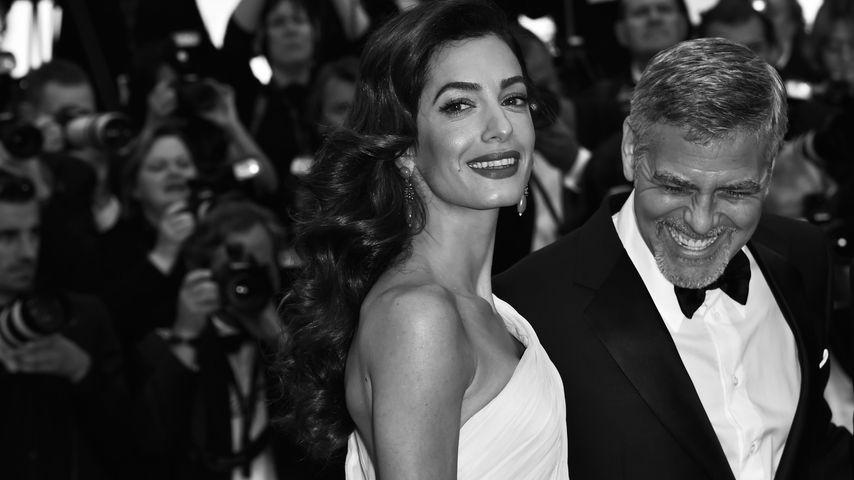 Amal und George Clooney bei den Filmfestspielen in Cannes 2016