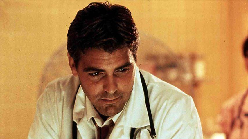 "George Clooney als Dr. Douglas Ross in ""Emergency Room"""