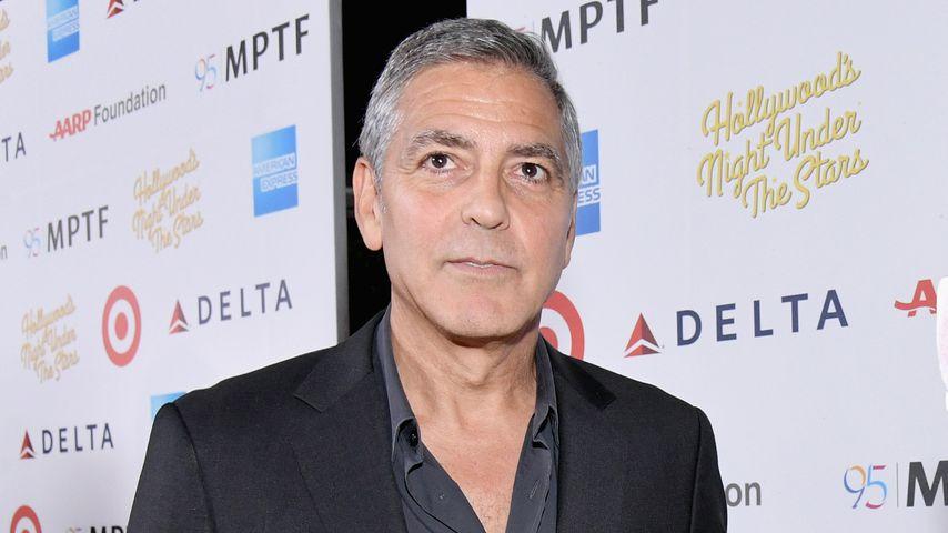 Bald-Papa George Clooney: Nervös vor Geburt seiner Zwillinge