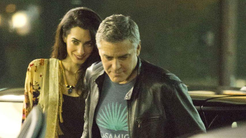 Schwabbel-George? Amal setzt Clooney auf Diät