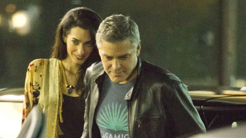 Angst um Amal! George Clooney baut Panic Room