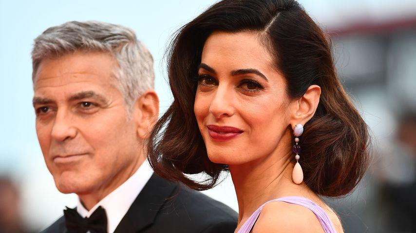 George und Amal Clooney in Venedig