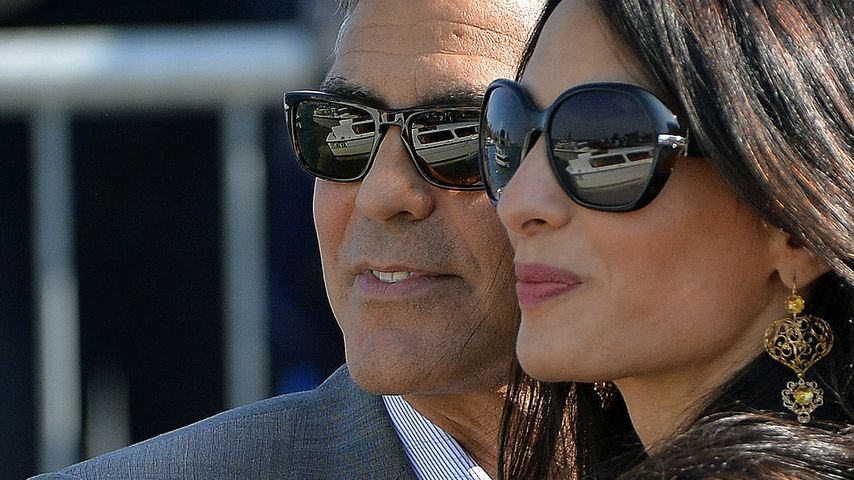 Pure Romantik: So war die Clooney-Hochzeit
