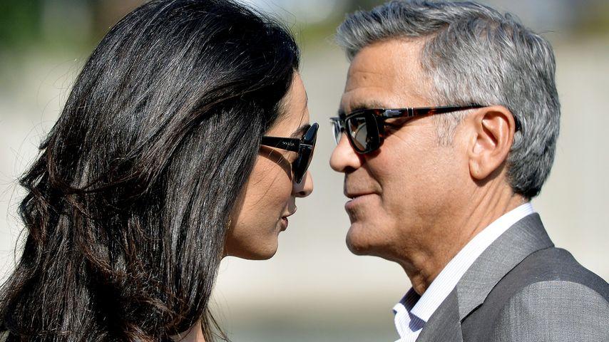 Hochzeit Teil 1: George Clooney hat JA gesagt!