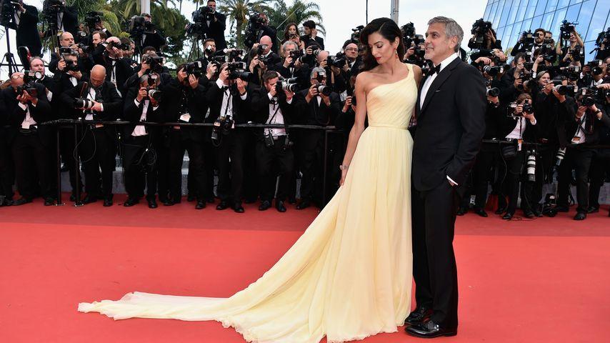 George Clooney und Amal Clooney bei den Filmfestspielen von Cannes