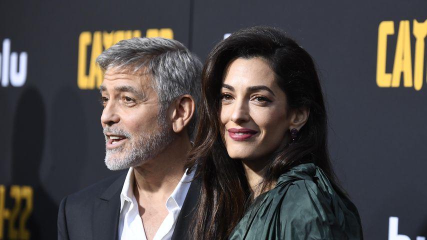 George Clooney und seine Frau Amal im Mai 2019 in Hollywood