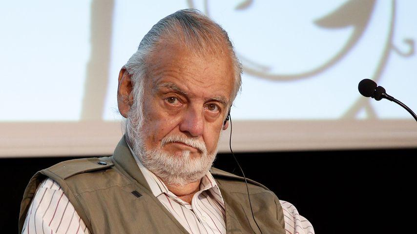 """George Romero beim """"Aperitivo Con Gli Autori"""" 2010"""