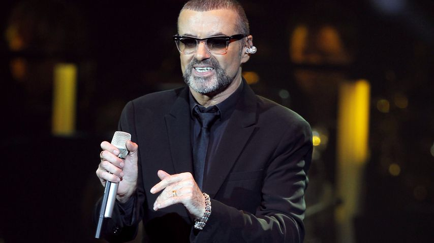 George Michael bei einem Konzert, September 2011