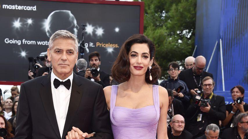 George und Amal Clooney beim Venice Film Festival 2017