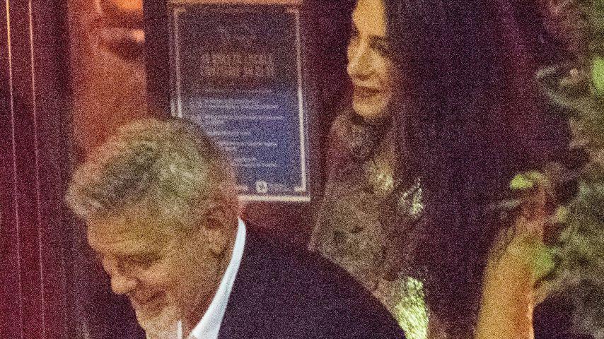 Nach Baby-Gerüchten: Erste Fotos von Amal und George Clooney