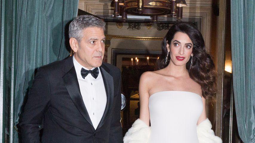 Besorgter George: Eigene Bodyguards für Clooney-Twins!