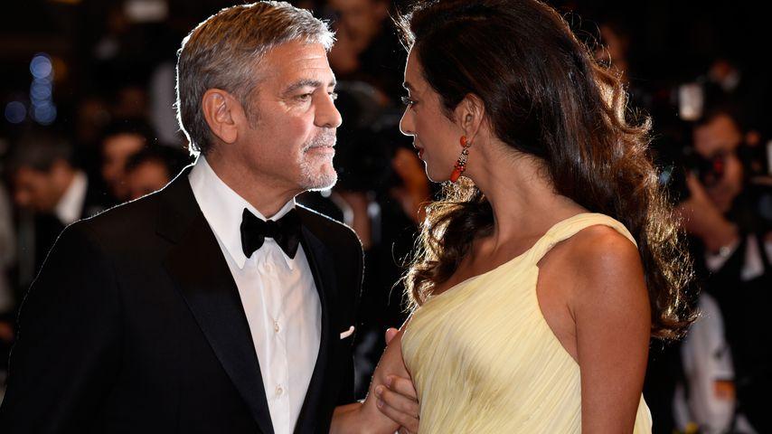 George & Amal Clooney: Keine Vollzeit-Nanny für ihre Twins!