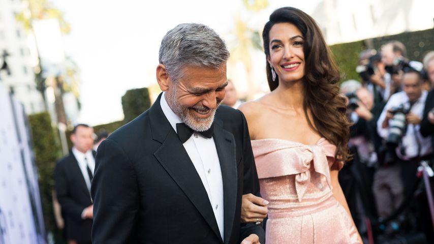 George und Amal Clooney, 2018