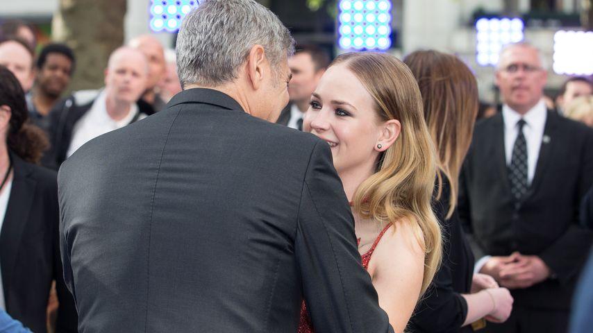 George Clooney und Britt Robertson
