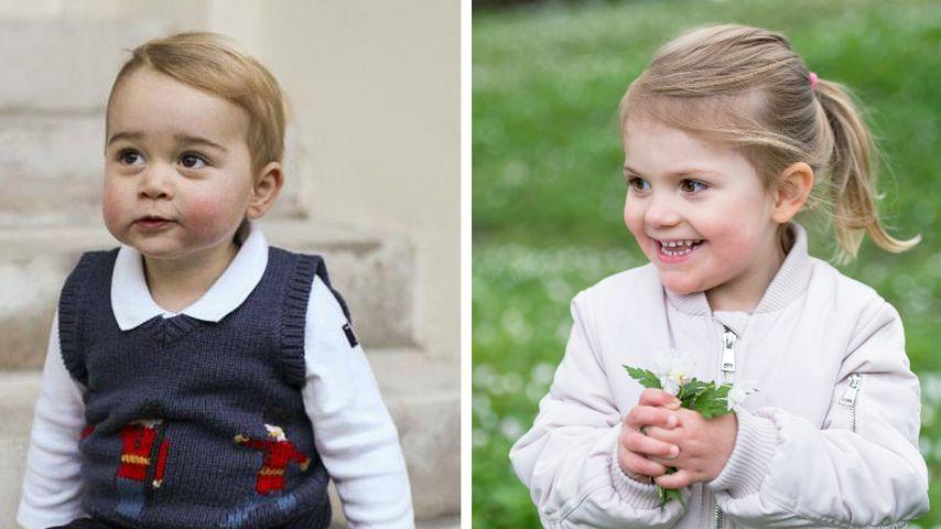 George & Estelle: Die goldigen Mini-Royals im Knuddel-Check