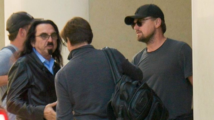 Kaum erkannt: Hier trifft Leonardo DiCaprio seinen Vater