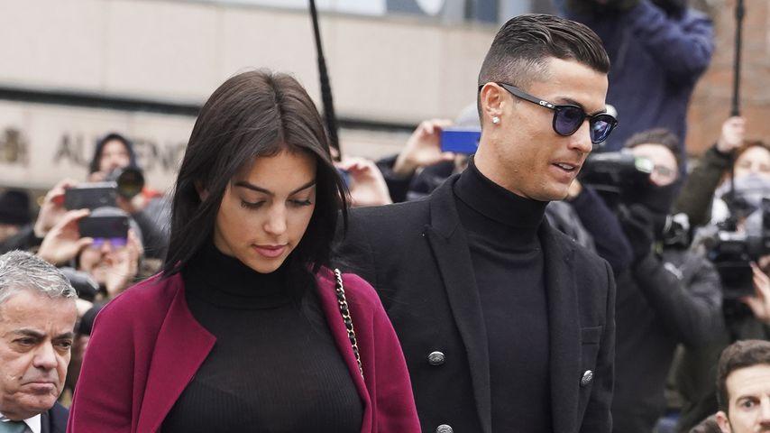 Sie hat den Ring abgelegt: Kriselt's bei Ronaldo & Georgina?