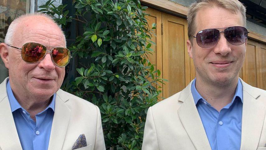 Gerhard und Oliver Pocher