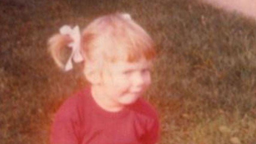 Geri Halliwell im Alter von drei Jahren