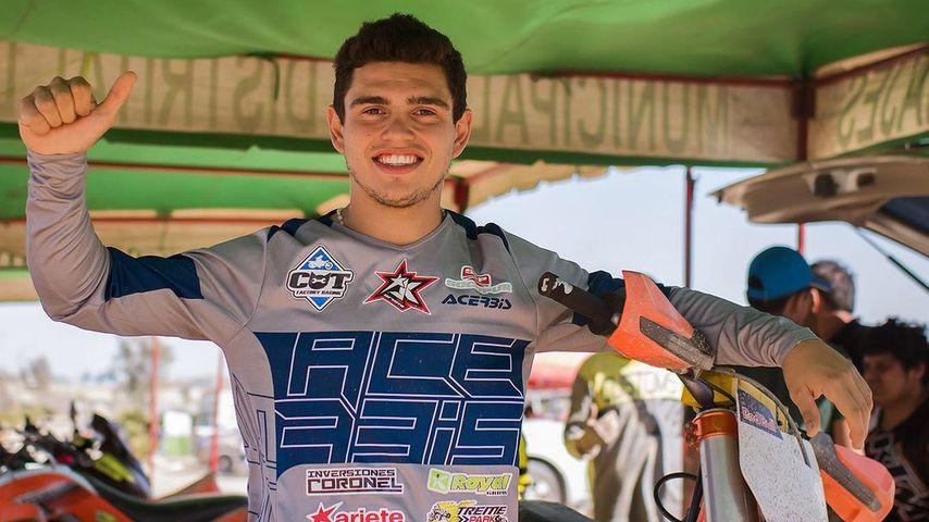 Geronimo Alberto Zapata Bacur, Motorcross-Star