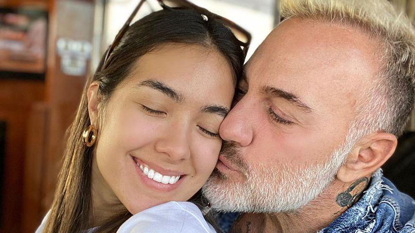 Gianluca Vacchi mit seiner Freundin Sharon