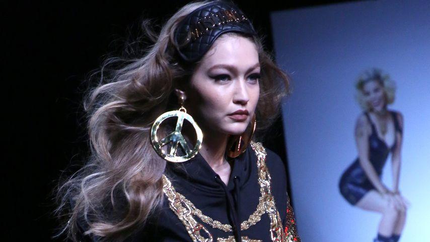 Gigi Hadid bei der Moschino x H&M-Show