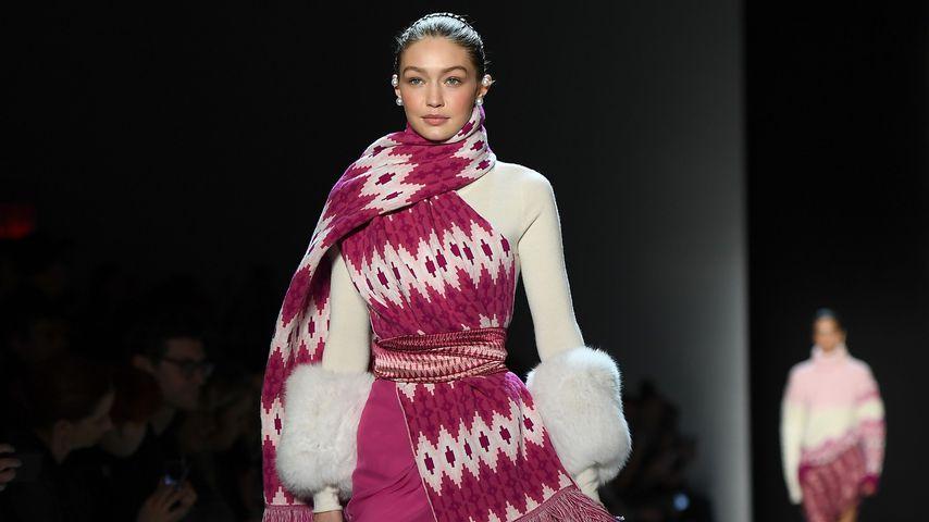 Gigi Hadid bei der Prabal Gurung-Show auf der NY Fashion Week 2018
