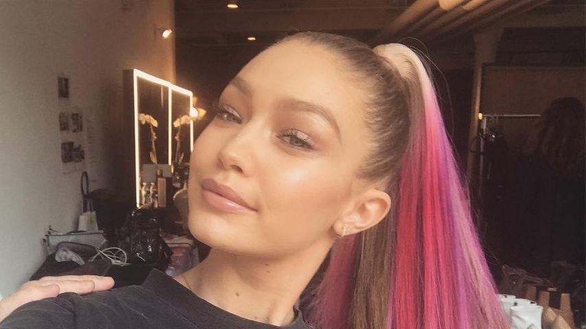 Ciao Blondie: Model Gigi Hadid überrascht mit pinken Haaren!
